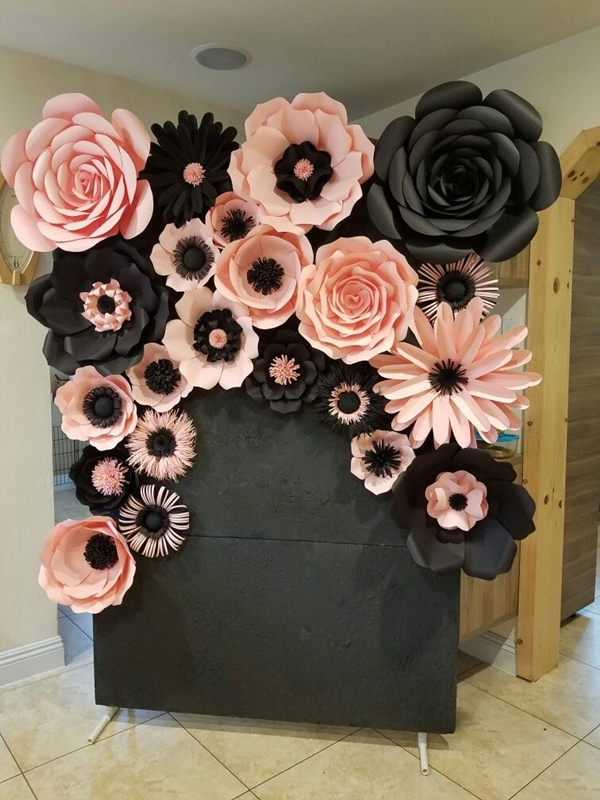 20 diy giant paper flowers ideas to try obsigen diy giant paper flowers ideas try mightylinksfo