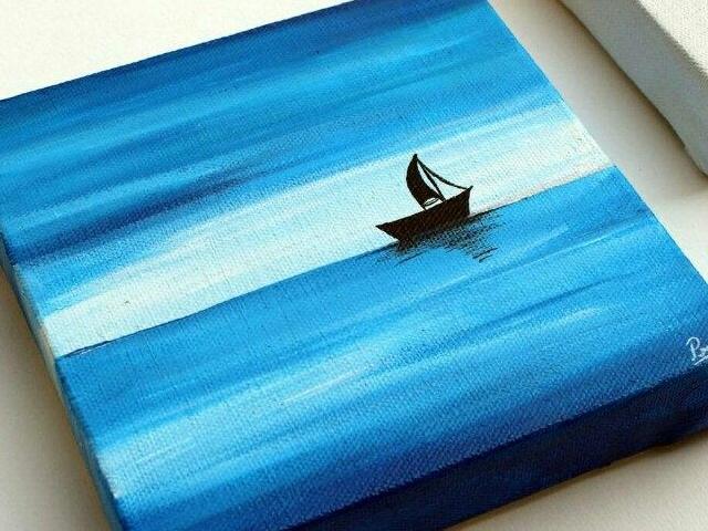40 Beautiful Wood Painting Art Ideas