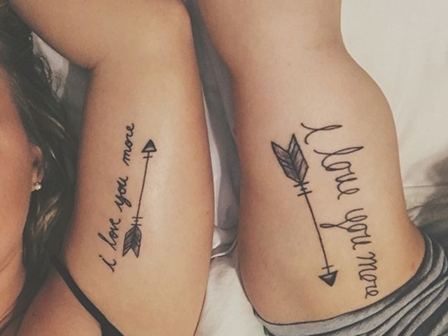 45 Cute Couple Tattoo Designs