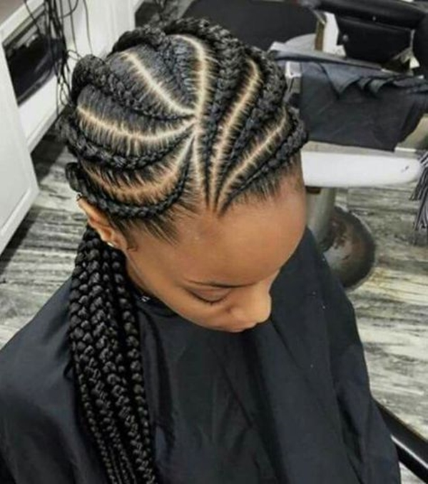 40 Lovely Ghana Braid Hairstyles To Try Buzz 2018
