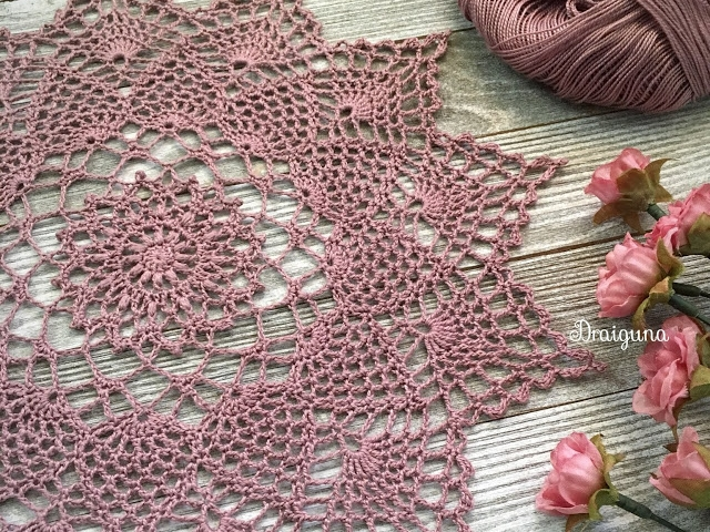 40 Beautiful Crochet Doily Designs to Practice