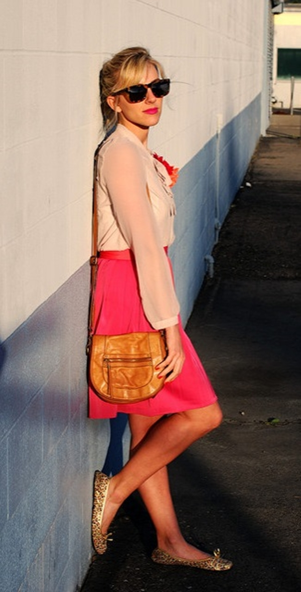 perfect-pink-colour-combination-dresses-for-females
