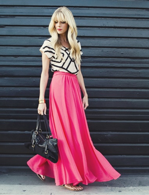 what-type-of-tops-to-wear-with-long-skirts