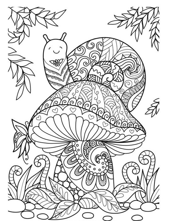 45 Free Printable Coloring Pages To Download - Buzz 2018