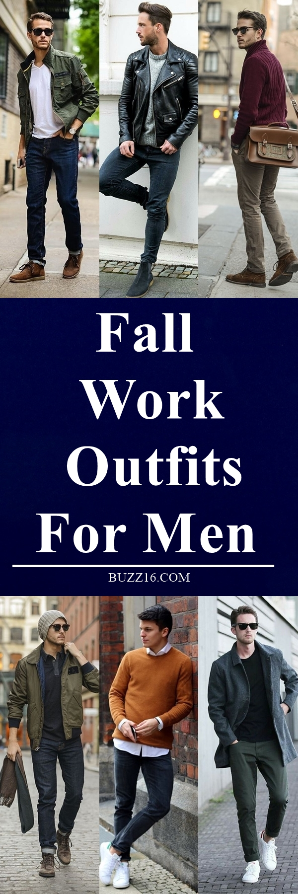 40 Fall Work Outfits For Men