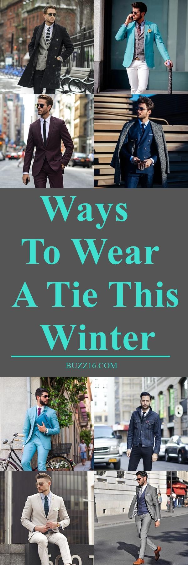 40 Ways to Wear a Tie This Winter