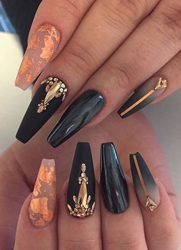 40 Smart And Classy Nail Art Ideas For This Fall – OBSiGeN