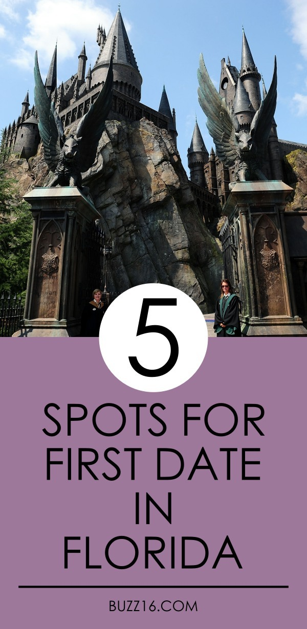 Top 5 Spots for a First Date in Florida