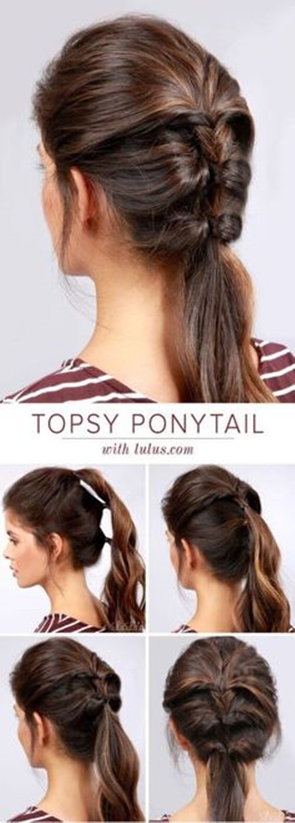 12 Simple and Sexy Office Hairstyles for Women - Buzz 12