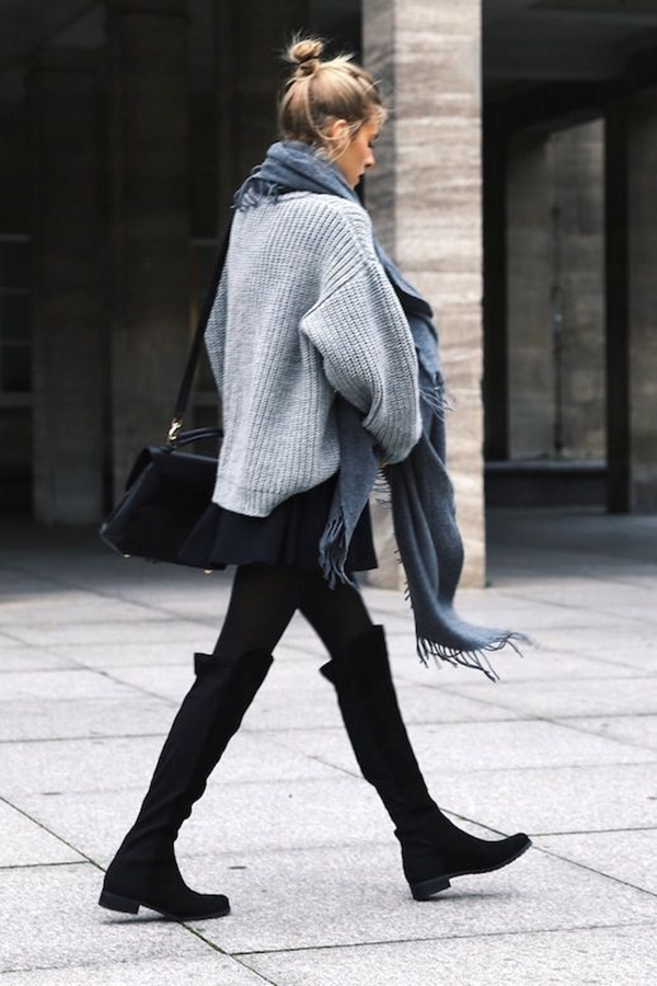 Attractive-Ways-to-Wear-Sweater-in-Work-Places