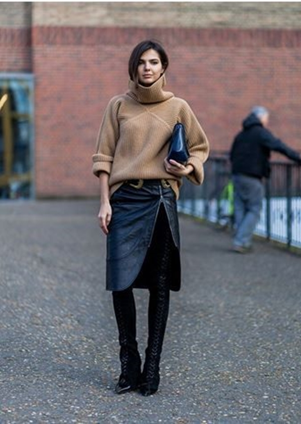 Attractive-Ways-to-Wear-Sweater-in-Work-Place