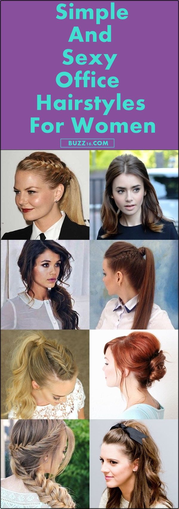 40 Simple and Sexy Office Hairstyles for Women