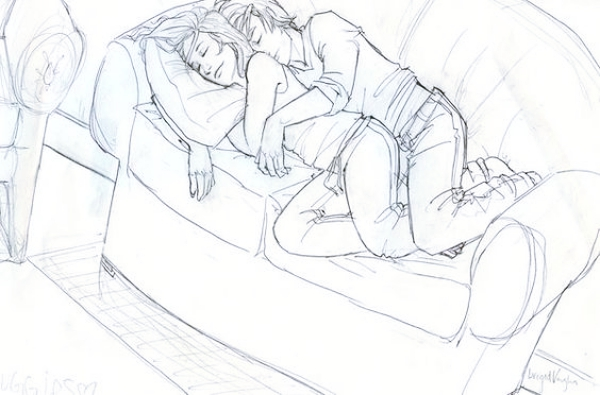 Romantic-Couple-Hugging-Drawings-and-Sketches
