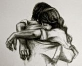 Romantic-Couple-Hugging-Drawings-and-Sketches-feature-image