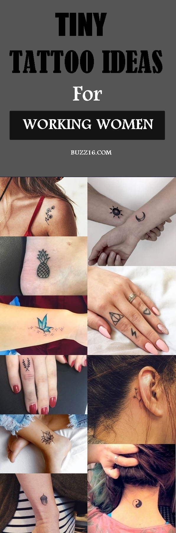 40 Tiny Tattoo Ideas For Working Women