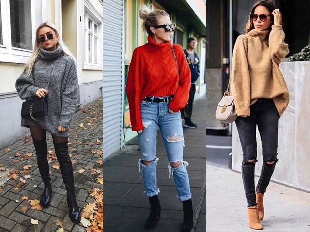 40 Beautiful Knitted Sweater Pattern Outfits 2019