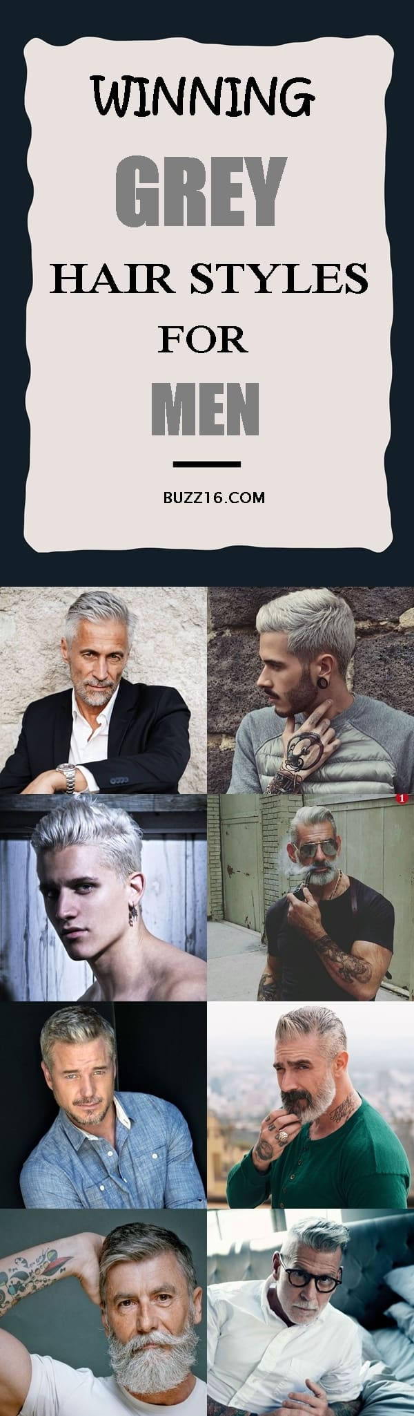 40 Winning Grey Hair Styles For Men