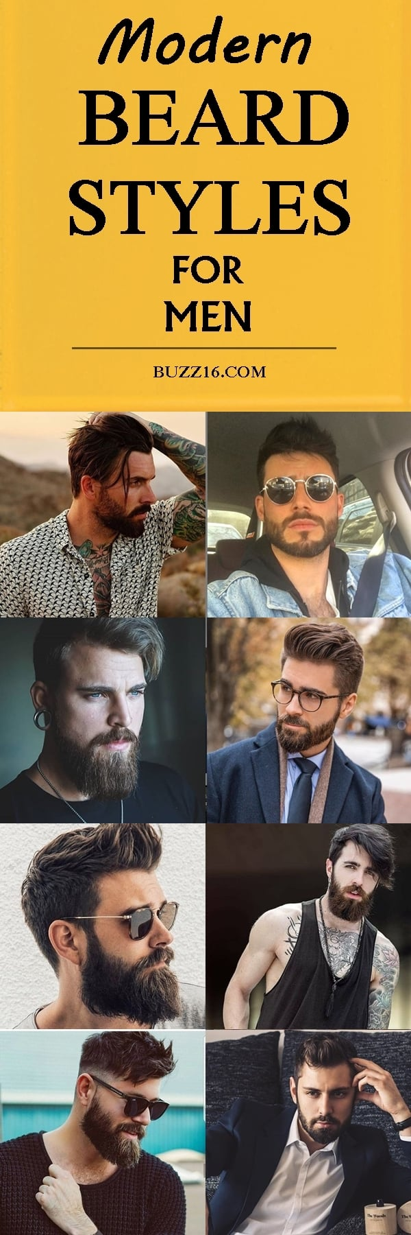 40 Latest Modern Beard Styles For Men