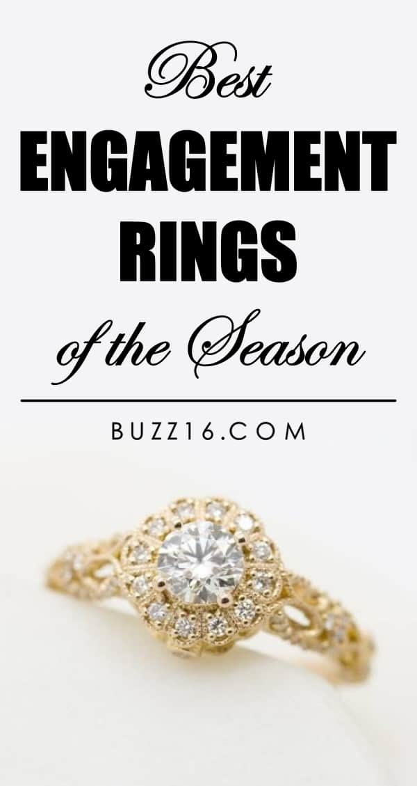 Best Engagement Rings of the Season